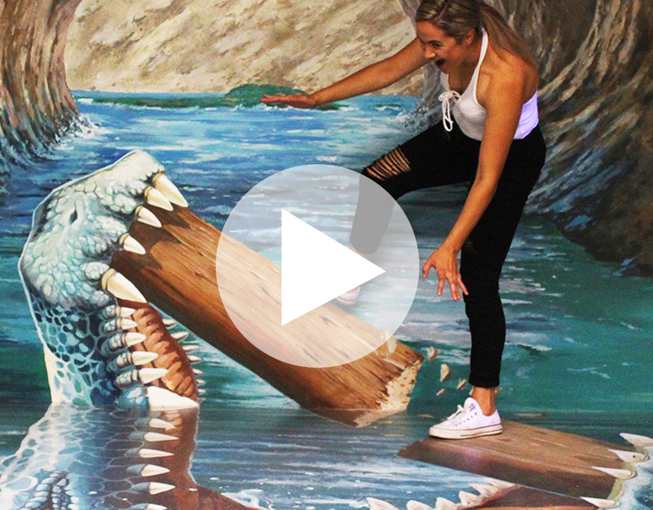 3d trick art gallery holiday destination rotorua attractions
