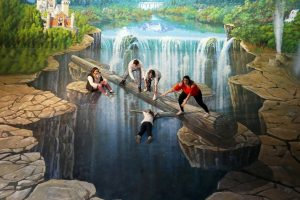 Rotorua Attractions 3D Trick Art gallery 02